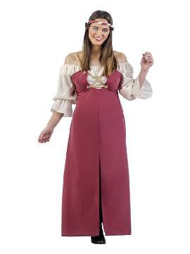 disfraz de posadera medieval margrett mujer