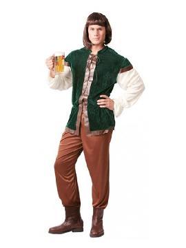disfraz de posadero medieval hombre
