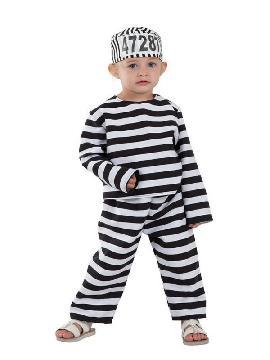 disfraz de preso para bebe