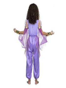 disfraz de princesa arabe lila niña