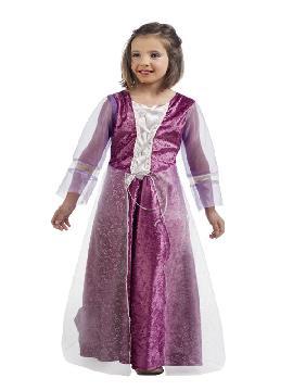disfraz de princesa aurora para niña