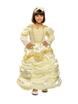 disfraz de princesa bella rococo para niña