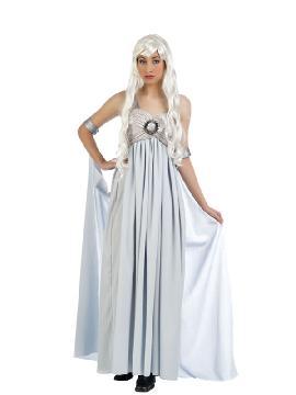 disfraz de princesa daenerys juego de tronos mujer