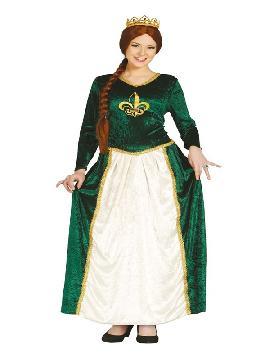disfraz de princesa fiona mujer