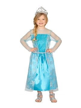 disfraz de princesa hielo para niña