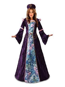 disfraz de princesa lavanda para mujer