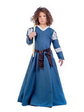 disfraz de princesa medieval edora niña