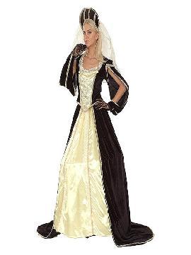 disfraz de princesa medieval lujo mujer