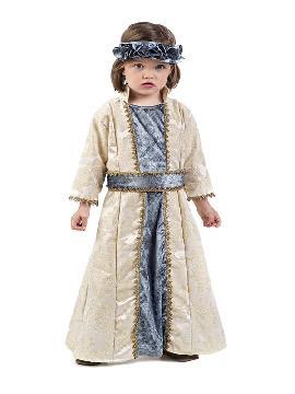 disfraz de princesa medieval lujo niña