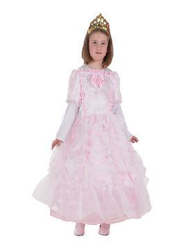 disfraz de princesa rosa carlota para niña