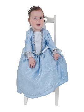 disfraz de princesita azul para bebe