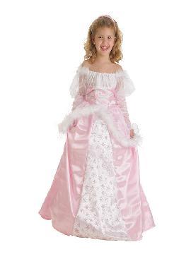 disfraz de princesita rosa lux para niña