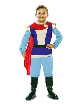disfraz de principe azul para niño