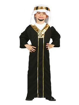 disfraz de principe del desierto niño