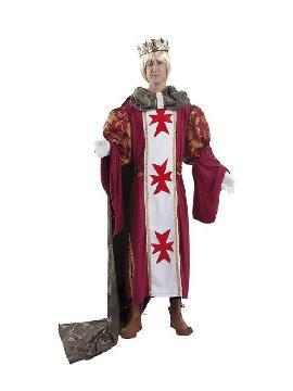 disfraz de principe medieval lujo hombre