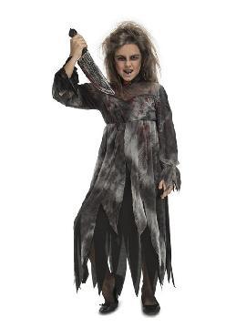 disfraz de psicopata sangrienta para niña