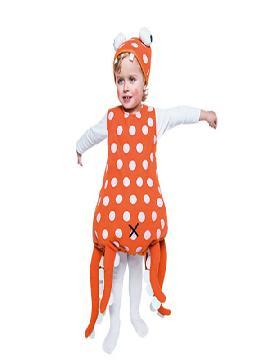 disfraz de pulpo rojo niño infantil. Lanzate al mar con este traje de pulpo y no te dejes atrapar por los pescadores de las fiestas tematicas y diviertete al maximo en carnaval. Este disfraz es ideal para tus fiestas temáticas de disfraces de animales y divertidos infantil.