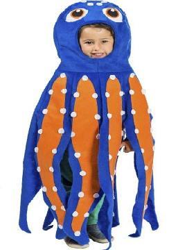 disfraz de pulpo tentaculos deluxe infantil