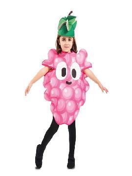 disfraz de racimo de uvas para infantil