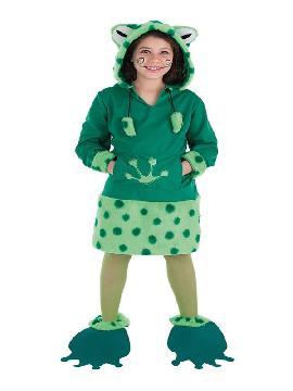 disfraz de rana mimosa para niña