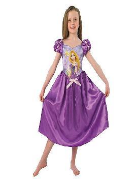 disfraz de rapunzel cuento para niña