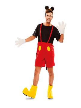 disfraz de raton mickey hombre
