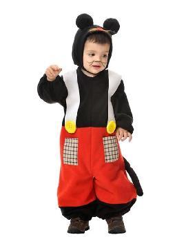 disfraz de raton mickey para bebe