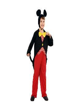 disfraz de raton mickey para niño