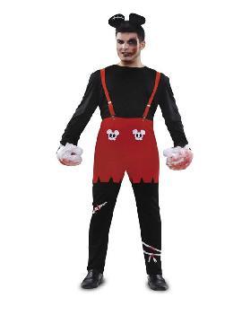 disfraz de raton zombi hombre