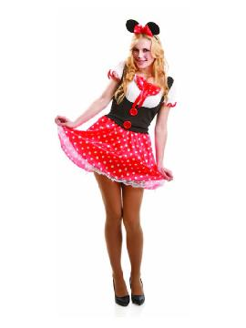 disfraz de ratoncita minie barata mujer adulto