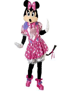 disfraz de ratoncita minnie original mujer adulto. La más pequeñita de la familia será la minnie mouse divertido de su Fiesta de la Guardería. Este disfraz es ideal para tus fiestas temáticas de animales y cuentos para adulto. fabricación nacional