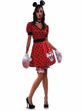 disfraz de ratoncita zombie mujer