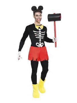 disfraz de ratoncito zombie hombre