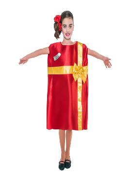disfraz de regalo de navidad infantil