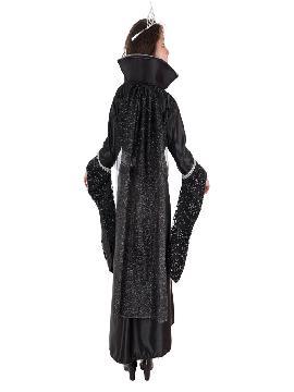 disfraz de reina cruzada para niña