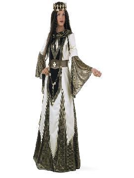 disfraz de reina cruzadas mujer