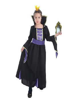 disfraz de reina del espejo para niña
