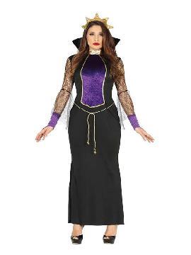 disfraz de reina malvada mujer