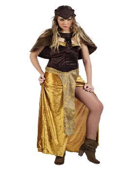 disfraz de reina medieval kalise para mujer