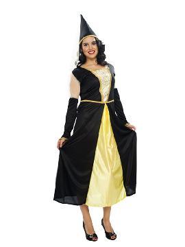 disfraz de reina medieval mujer