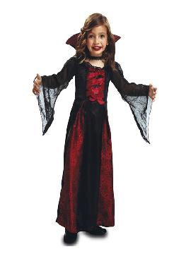 disfraz de reina vampiresa para niña