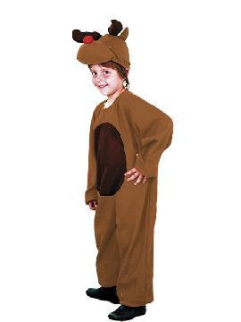disfraz de reno rudolf infantil