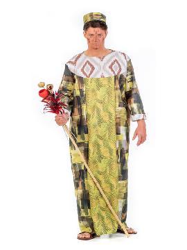 disfraz de rey africano hombre