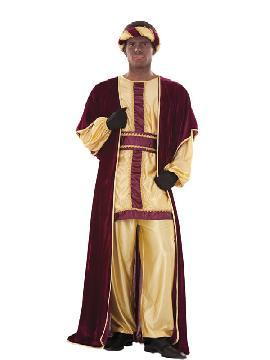 disfraz de rey baltasar deluxe adulto