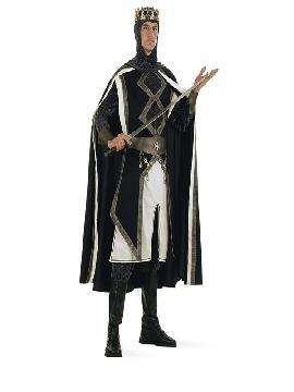 disfraz de rey cruzadas deluxe hombre