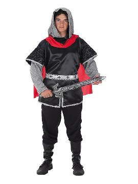 disfraz de rey cruzado para hombre