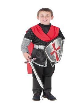 disfraz de rey cruzado para niño
