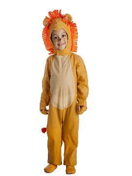 disfraz de rey leon para niños