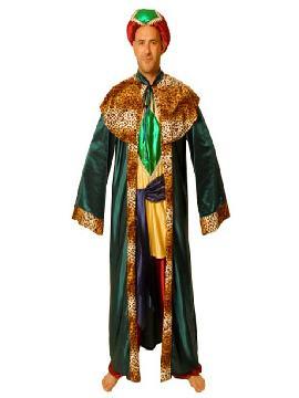 disfraz de rey mago baltasar deluxe adulto