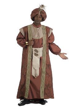 disfraz de rey mago baltasar deluxe hombre